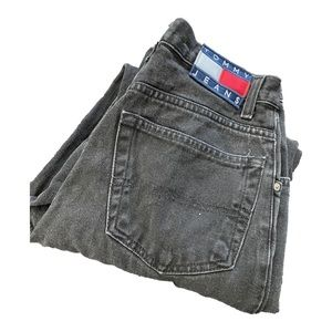 high waisted vintage tommy jeans